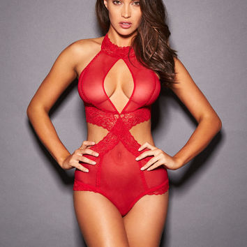 Alexia May Halter Neck Teddy