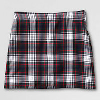 School Uniform Plaid Short Chino Skort (Above the Knee) from Lands' End