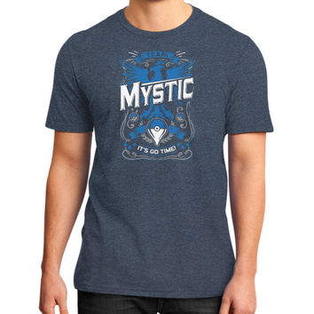 It's Go Time Team Mystic District T-Shirt (on man)