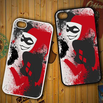 Harley Quinn X0301 LG G2 G3, Nexus 4 5, Xperia Z2, iPhone 4S 5S 5C 6 6 Plus, iPod 4 5 Case