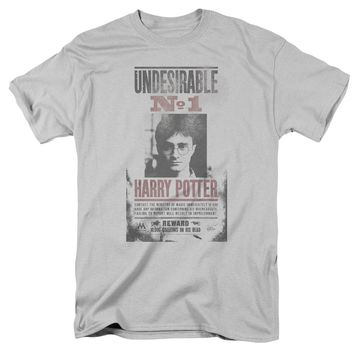 Harry Potter - Undesirable No1 Distressed Short Sleeve Adult 18/1