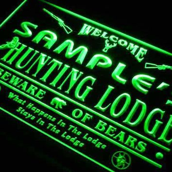 Personalized Hunting Lodge Neon Sign (LED)