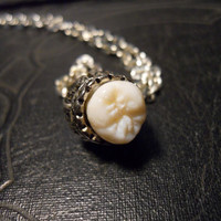 Crown Tooth Real Human Tooth Royal  Crowned Molar Necklace