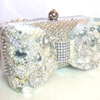 Cinderella's Clutch bag Swarovski crystal by everlastinglifashion
