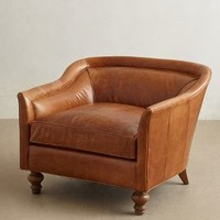 Leather Holloway Armchair by Anthropologie