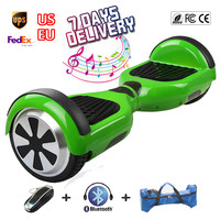 Bluetooth Smart Balance Wheel Green Hoverboard Electric Skateboard Unicycle Drift Self Balancing Standing Scooter Hoover Board