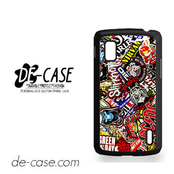 Music Stiker Bomb For Google Nexus 4 Case Phone Case Gift Present YO