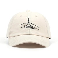 Smoking Embroidery Hat