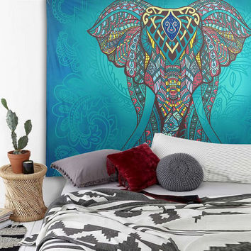Wall Hanging Hippie Throw Bohemian Indian Decor Mandala Tapestry Dorm Bedspread