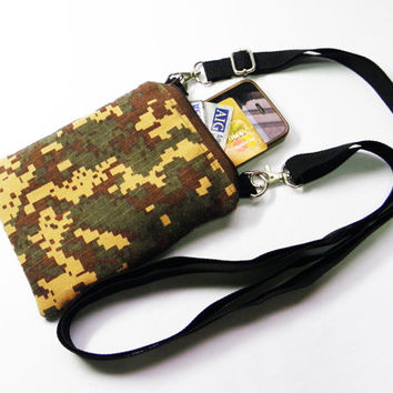 Small Army Navy Marine Air Force Military Camouflage Bag,Iphone Bag Purse,Crossbody Bag,Messenger Bag,Shoulder Bag For Boys Girls Men Women