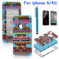 brilliant — Totem Protective Case For Iphone 4/4s/5 with pen and sticker