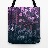 Mermaid Tail Tote Bag by Charlene McCoy