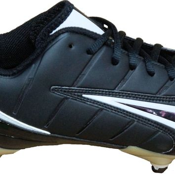 Nike Super Speed D Low Detachable Men's Football / Lacrosse Cleats ~ Black/White
