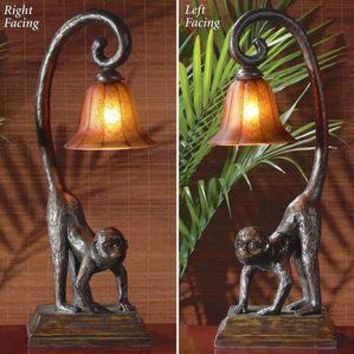 Simian Glow Monkey Table Lamp