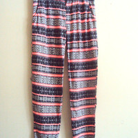 SALE! Christmas Joggers Flannel Pants Snowflake Pants Women Loose Fit Lounge Pants Gift For Her  Ready to Ship!