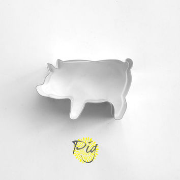 Pig Cookie Cutter / Animal Cookie Cutters / Farm Animals Cookie Cutters