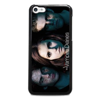 the vampire diaries iphone 5c case cover  number 1