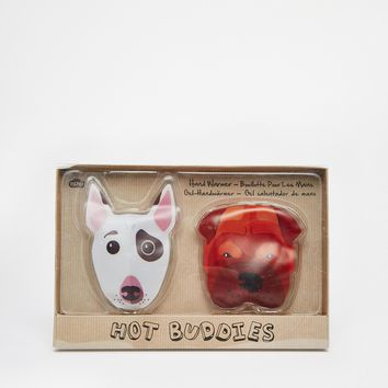 Dog Duo Hand Warmers at asos.com