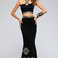 Two Piece Prom Dress by Faviana FA-7736