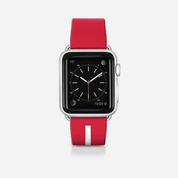 Denmark flag - Patriot collection Apple Watch Band (42mm)  by WAMDESIGN | Casetify