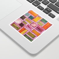 Abstract Painting Sticker by mariameesterart