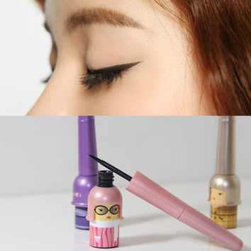 Lucky Dool Eye Makeup Cosmetic Tool Waterproof Black Liquid Eyeliner Pen = 1705897092
