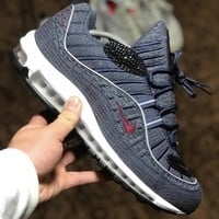 KUYOU AIR MAX 98 BLUE THUNDER
