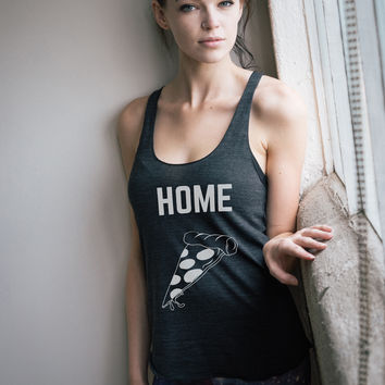 Homeslice Pizza Racerback Tank Top