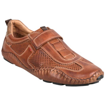 Pikolinos Fuencarral Ventilated Leather Brandy Moccasin