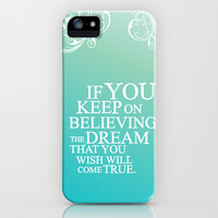 believing.. cinderella quote iPhone & iPod Case by studiomarshallarts