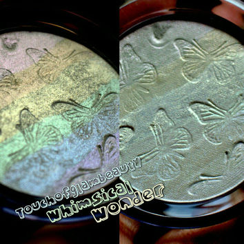 Jumbo 58mm, 44mm, 37mm size WITH Compact Whimsical Wonder Irridescent Rainbow Duochrome Highlighter.TAKING PREORDER