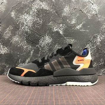 Adidas Nite Jogger 2019 Boost Core Black Sport Running Shoes | CG7088 - Best Online Sale