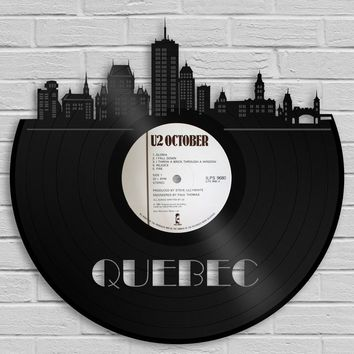Unique Anniversary Gift Ideas For Him, For Her, For Couple, Quebec Art, Wedding Song Artwork, First Dance Song Wall Art, Personalized Record