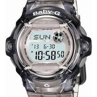 Casio Baby-G Whale - Ash Crystal Color - World Time Chronograph - 200 Meters