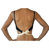 Fashion First Aid Women's Plus-Size Low Expectations Low Back Bra Converters, Beige, One Size