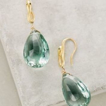 Quintessence Drops by Satya Jewelry Blue Green One Size Earrings