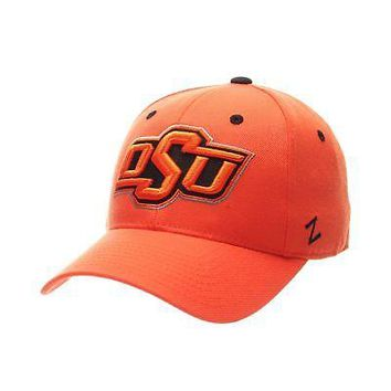 promo code 10ea0 ef13e Licensed Oklahoma State Cowboys Official NCAA DH Size 7 Fitted Hat Cap by  Zephyr 563298 KO 19 1