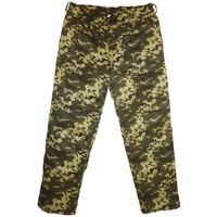 Winter Military Army Green Digital Camo Trousers Pants Ukrainian Uniform Size S or 46 for Europe
