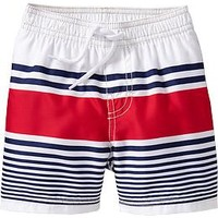 Americana Striped Swim Trunks for Baby
