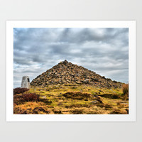 Beamsley Beacon  Art Print by Karl Wilson Photography