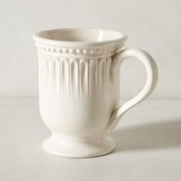 Ceres Mug by Anthropologie in White Size: Mug Mugs