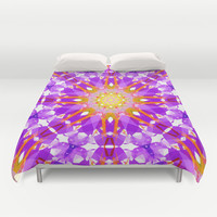EARLY STRENGTH Duvet Cover by Chrisb Marquez