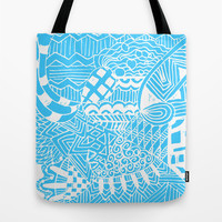 Doodle Pattern Series 2 Tote Bag by Idle Amusement