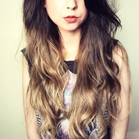 Zoella | Beauty, Fashion & Lifestyle Blog: Re-Ombred Hair | Salon Edition