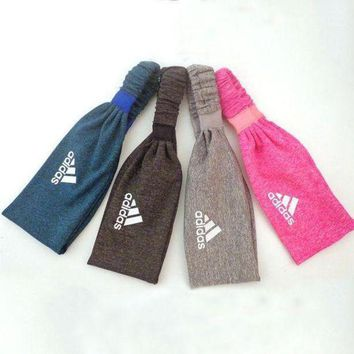PEAPFN Adidas Women Casual Yoga Sports Running Sweatband Headband