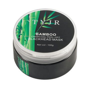 TYJR 100G Facial Skin Care Cleansing Bamboo Charcoal Mask Blackhead Remover Acne Treatment Peel Off Facial Mask