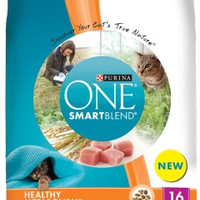 Purina ONE Smartbalance Healthy Metabolism Cat Dry Food 16 lbs