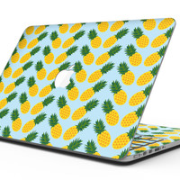 Tropical Twist PineApple v1 - MacBook Pro with Retina Display Full-Coverage Skin Kit