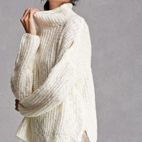 Chunky High-Neck Sweater