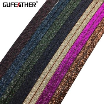 GUFEATHER 5mm PU leather Cords/Jewelry Findings/rope/diy Hand made bracelet/100CM braided leather cord